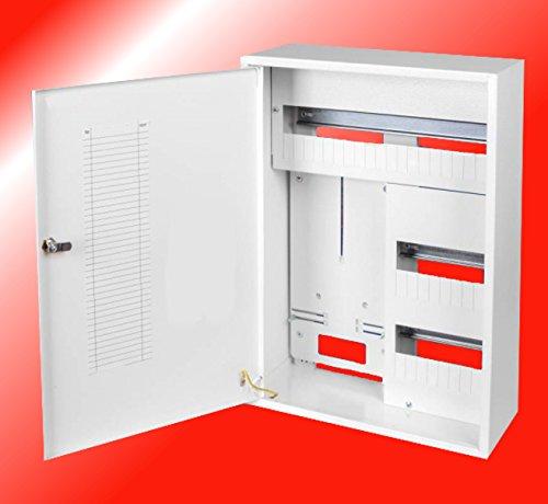 Zählerschrank Sicherungskasten Verteilerkasten AUFPUTZ 3 PHASEN 38. Sich. IP30 38