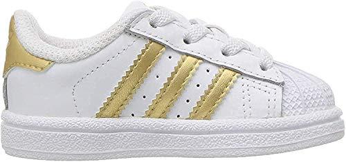 adidas Originals Superstar, Zapatillas para Niños, Núcleo Blanco Negro Core Blanco, 39 2/3 EU