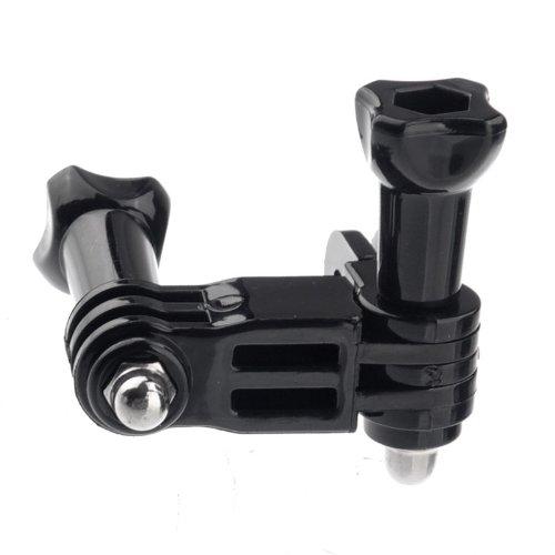 DREI-Wege-einstellbare Pivot Arm für GoPro Hero Kamera 1 2 3 - Schwarz