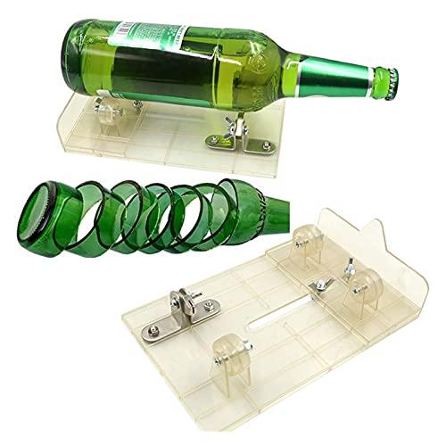 Herramienta de cortador de botella de vidrio para botellas cortador de vidrio cortador de vino Cerveza de vino Herramientas de corte de bricolaje para cortar botella de cerveza Botella de vino Botella