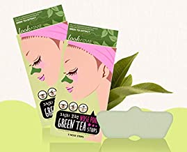 Look At Me Blackhead Removal, Pore Minimizing Nose Pore Strips, Green Tea | Pack of 2