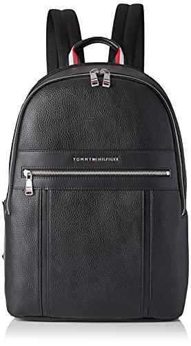Tommy Hilfiger TH Downtown Backpack, Zaino Uomo, Nero, Medium