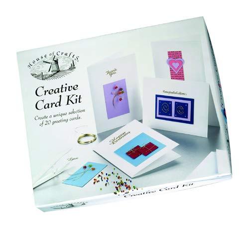 House of Crafts Kit de création de cartes
