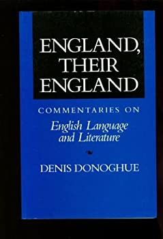 England, Their England: Commentaries on English Language and Literature 0394564731 Book Cover
