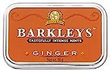 Barkleys Arancione Caramelle Zenzero Ginger. Confezione da 6 Lattine. Senza derivati del latte, Glutine, Uova, Soia e sostanze animali. Adatto a Vegetariani e Vegani. Da collezionare