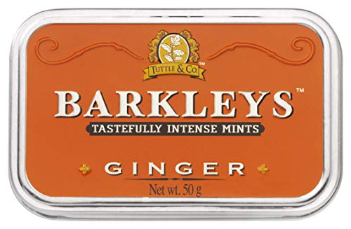 Barkleys Classic Mints - Ginger, 6 tins, 6er Pack (6 x 50 g), 742045, 95 * 60 * 20 mm