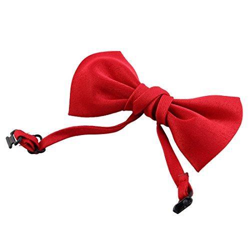 sourcingmap Chien Chat Rouge Nud Papillon Bowknot Cravate Animal De Compagnie Collier Ajustable