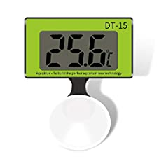 fllyingu Aquarienthermometer, LCD Digital