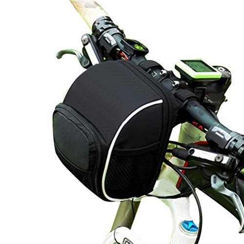 Urisgo Fahrrad Rahmentaschen wasserdichte Oxford-Stoff-Fahrradtasche Große Kapazität Lenker Vorderrohrtasche Schulterrucksack für Klapprad