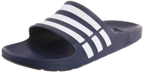 adidas Duramo Slide Sandal,Dark Blue/White/Dkblue,10 M US