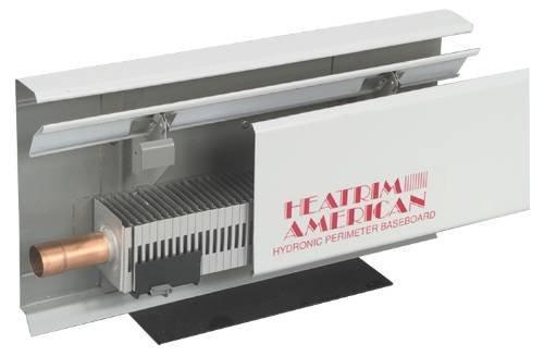 Beacon Morris Sterling Heatrim Baseboard R-750-A5 Hydronic Baseboard Heater 5 Ft