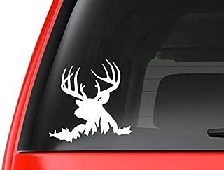 CustomDecal US Buck Lying Down (H6) Deer Hunting Vinyl Decal Sticker Car/Truck Laptop/Netbook Window