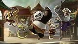 FFGHH Rompecabezas Puzzle 1500 Piezas Jigsaw Puzzle Kung Fu Panda Recomendado para Niños Colección 87 * 57Cm