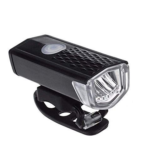 WY-YAN Fahrrad-Licht-Set, USB nachladbare wasserdichte Frontscheinwerfer und Rückscheinwerfer Radfahren vorderer Licht-Scheinwerfer-Lampen-Fackel-Fahrrad-Zubehör Tragbare