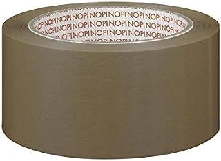 NOPI Pack PVC reliëf, bruin 66 m: 50 mm