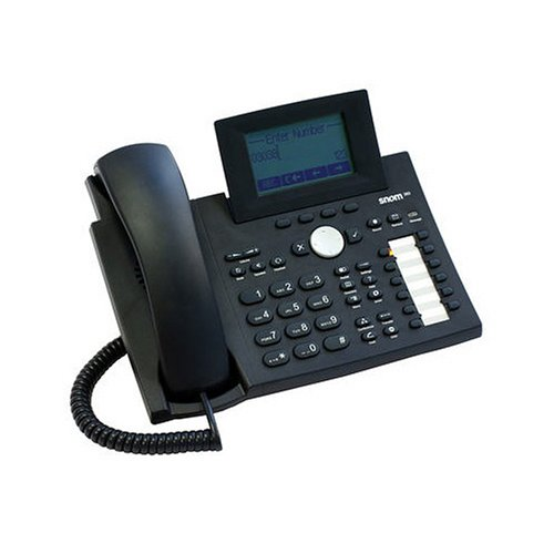 SNOM 360 High-End Business Phone Black 0