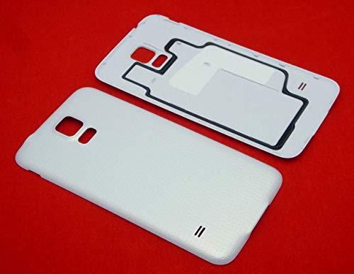 handywest - Cover Posteriore copribatteria per Samsung Galaxy S5 G900F S5 Neo G903F LTE, Colore: Bianco
