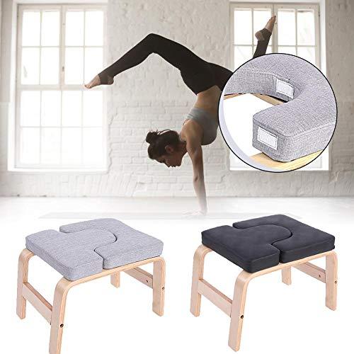 Yoga Handstand Bench Yoga Kopfstandhocker Für Füße Hoch Und Gleichgewichtstraining, Yoga Inversionsbank Multifunktionssport Übungsbank Fitnessgeräte - Entlasten Sie Müdigkeit Und Bauen Sie Körper Auf