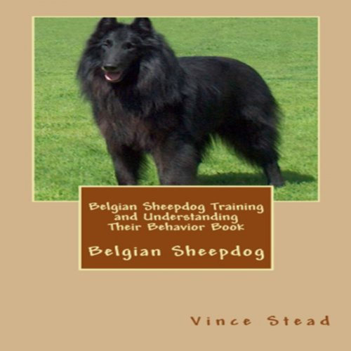 Belgian Sheepdog Training and Understanding Their Behavior Book audiobook cover art
