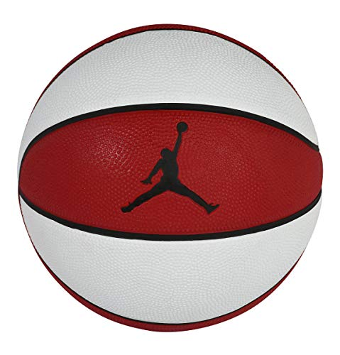 Nike Jordan Playground 8P - Balón de béisbol, Blanco, rojo, 7