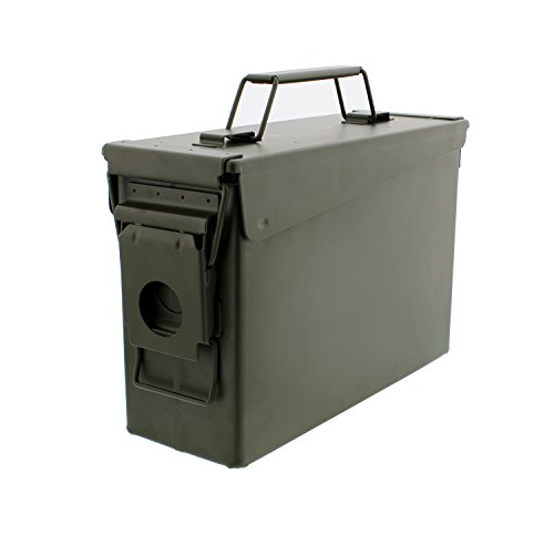 Redneck Convent Metal Ammo Case Can –...