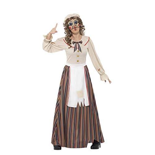 SMIFFYS Costume Possessed Judy, Multicolore, con abito, cappello e maschera in lattice
