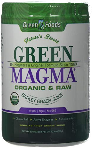 Green Foods Organic Green Magma Barley Grass Juice Powder, 230 g