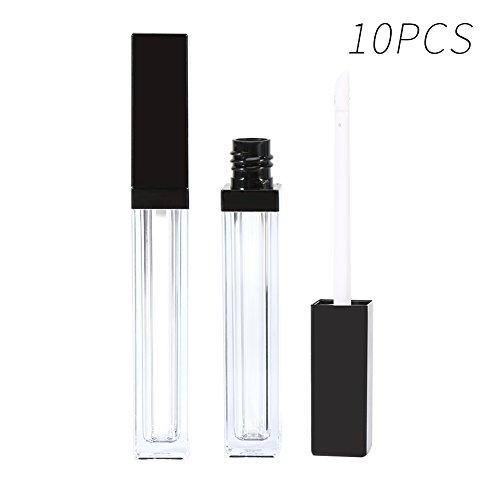 Nouveau plastique 5 ml vide brillant à lèvres bouteille tube cils croissance huile conteneur 5 pcs/10 pcs/20 pcs(10PCS)