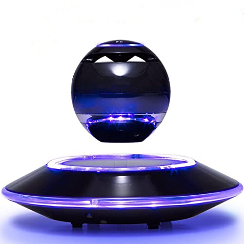 Infinity Orb Levitating Bluetooth Speakers Magnetic Wireless Floating Speaker with LED Light for...