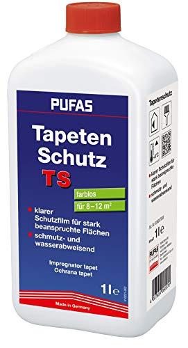 Pufas 006007000 TS Tapetenschutz Anstrichschutz Elefantenhaut, transparent, 1 Liter
