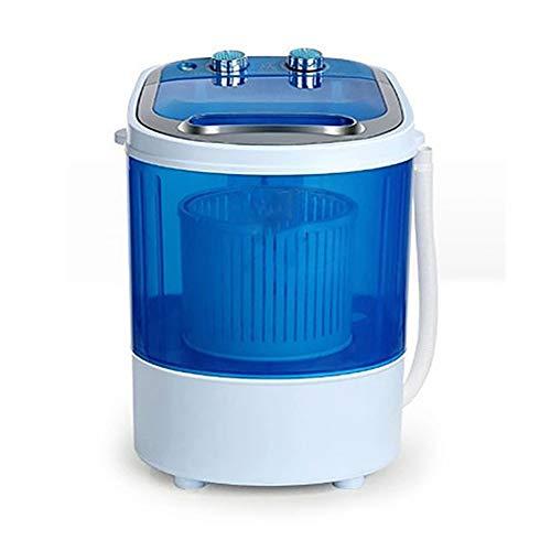 LLC 4,5 Lavadora kg, Mini Lavadora, Lavadora 2-in-1-sola bañera con función de Secado por centrifugación, Lavadora portátil con pequeño tamaño Conveniente para el pequeño Dormitorio apartamento
