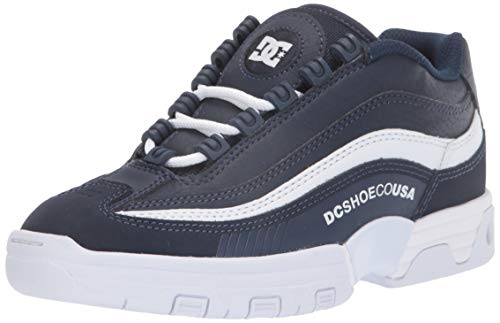 DC Legacy Lite, Zapatos de Skate Mujer, Azul Marino/Blanco (Navy White), 36 EU