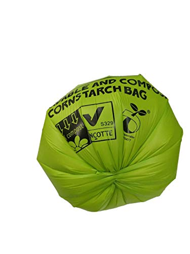 ZPAW Compostable and Biodegradable Dog Poop Bags Made with Corn Starch | Large Environmentally Friendly Dog Waste Bags Certified 100% Compostable and Biodegradable (160 Pet Waste Bags) 4