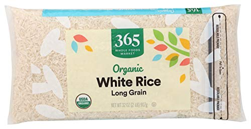 365 by Whole Foods Market, Organic Long Grain Rice, White, 32 Ounce