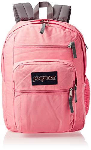 JanSport Big Student Backpack - 15-inch Laptop School Pack, Strawberry Pink