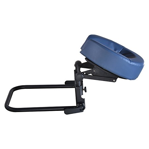 Master Massage Home Mattress Top Massage Kit Adjustable Headrest & Face Cushion Family Use Massage Equipment Black and Blue