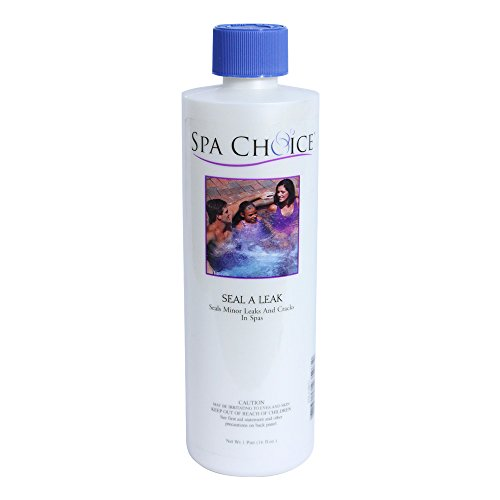 Spa Choice 472-3-5071 Seal a Leak Minor Cracks and Leaks Repairing Solution for Spas and Hot Tubs, 1-Pint