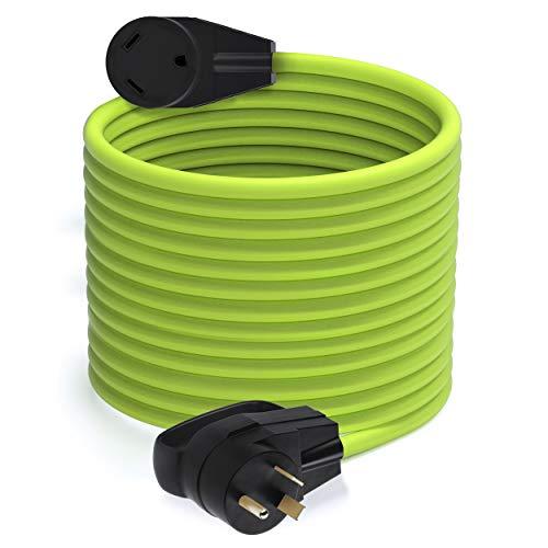 GearIT 30-Amp 100-Feet 250-Volt RV Extension Cord for RV, NEMA TT-30P to TT-30R