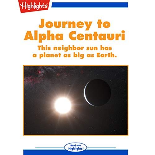 Journey to Alpha Centauri copertina