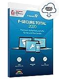 F-Secure TOTAL Security und VPN 2019 - 2 Jahre / 5 Geräte für Multi Plattform (PC, Mac, Android und iOS) [Online Code]