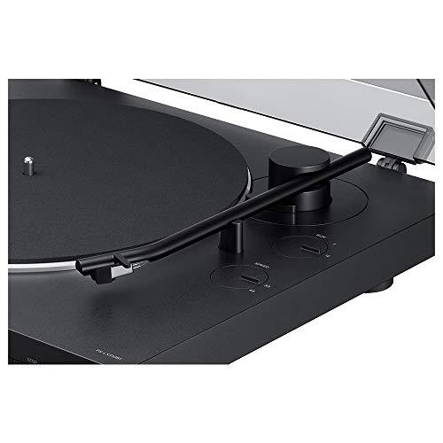 ソニーステレオレコードプレーヤーBluetooth対応USB出力端子搭載PS-LX310BT