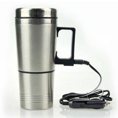 12V車専用 シガーライター カーポット! 容量300ml 沸騰可! 車中泊、お仕事に! カップラーメンに! コーヒーに! 乳児のミルク作りに! cosparts-10