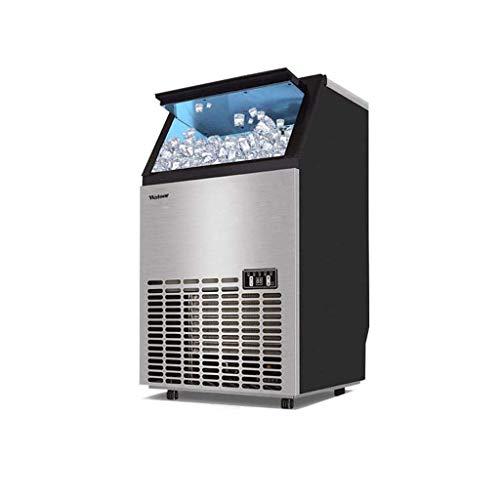 GONGFF Máquina para fabricar Hielo Comercial Independiente, fabricadora de Hielo incorporada, 55 kg de Hielo en 24 Horas, Ideal para restaurantes