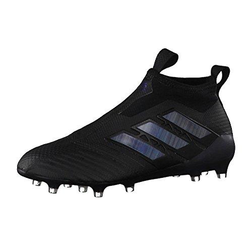 adidas Herren Ace 17+ Purecontrol Fg Fitnessschuhe, Schwarzer schwarz schwarz schwarz, 43 1/3 EU
