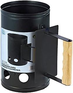 IMEX EL ZORRO Encendedor para Barbacoa, Negro, 17x17x27 cm, 71436