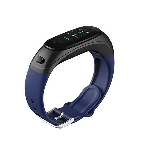 YFWDY Smart Armband Fitness Tracker Bluetooth Headset 2-in-1-Anrufe Sport Meter Herzfrequenz Blutdrucküberwachung