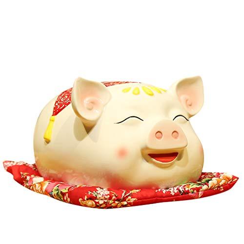 piggy bank Hucha Multifuncional Dibujos Animados creativos Hucha Simple de Gran Capacidad cumpleaños Puede Contener 1500 Monedas