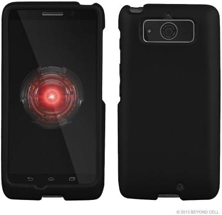 Motorola Droid Mini XT1030 Case Black Rubber Feel coated Hard Snap On Cover Verizon product image