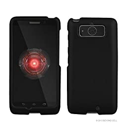 top 10 droid mini cases Motorola Droid Mini XT1030 – Black Rubber Coated Hard Rock Case (Verizon)