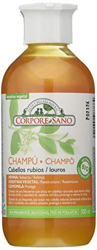 Corpore Sano CHAMPU HENNA CAMOMILA 300 ml